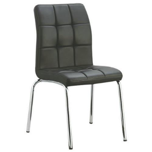 Silla Comedor Puf Forrada, muebles de sala de estar, comedor y restaurante, moderna forrada con asiento puf cómodo, moderna y ergonómica.