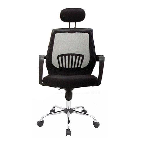 Silla de Oficina Malla Perla , moderna de alta calidad, ergonómica, reclinable, elevadora, giratoria, elegante y cómoda.